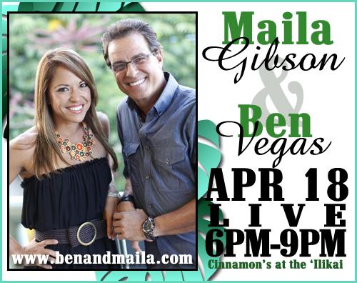 Maila Gibson and Ben Vegas